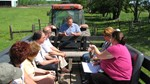 phil keppler on farm tour